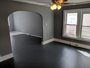 empty remodeled room