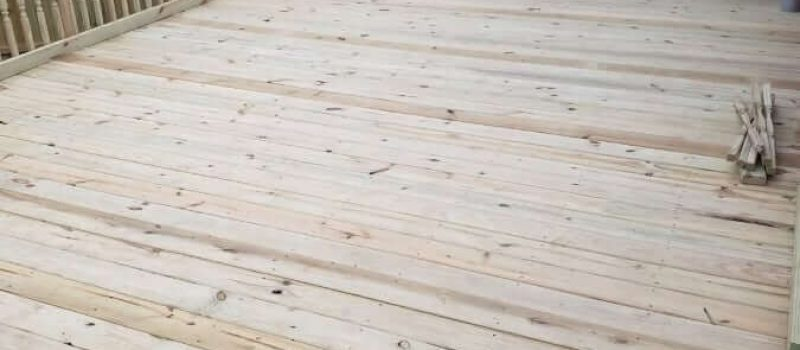 Custom Residential Decking Project